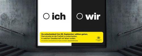 Go-Vote: Aufruf zur Bundestagswahl